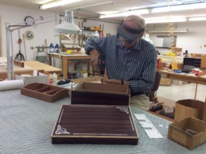 the making of a customized humidor