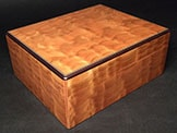 Quilted Cherry Humidor