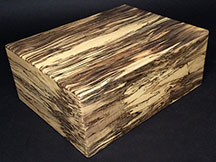 Spalted Maple - 50 Cigar Humidor