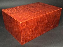 Maple Wood Cigar Box