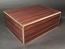 American Made Humidor made from Indian Rosewood