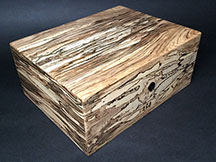 Spalted Maple - 100 Cigar Humidor