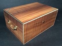 Koa Handcrafted Cigar Box