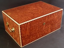 Bubinga Wood Large Cigar Humidor