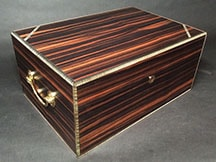 Ebony unique cigar humidor