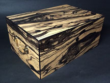 Spalted Maple - 150 Cigar Humidor