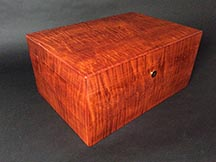 Maple Wood Cigar Humidor