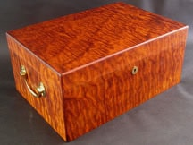 Premium Maple Cigar Humidor